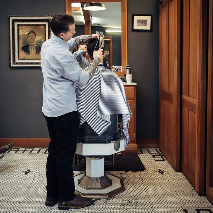 Temescal-Barbershop